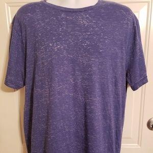 Like New Sunday Work Clothes Burnout Blue Tshirt